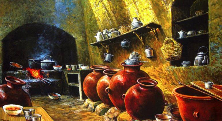 Cocina picantería de Víctor Turpo.