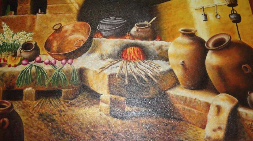 Pintura de Víctor Turpo. Fotos Difusión.