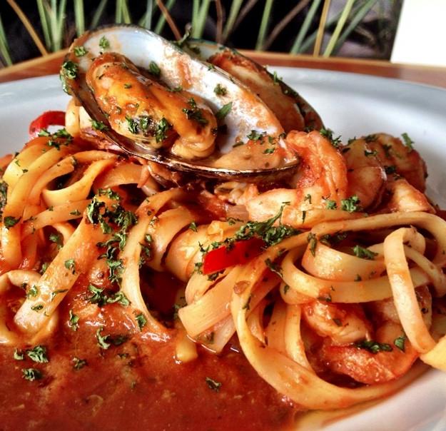 Delicias gastronómicas marinas de espacios como Il Grillo. Foto Difusión.