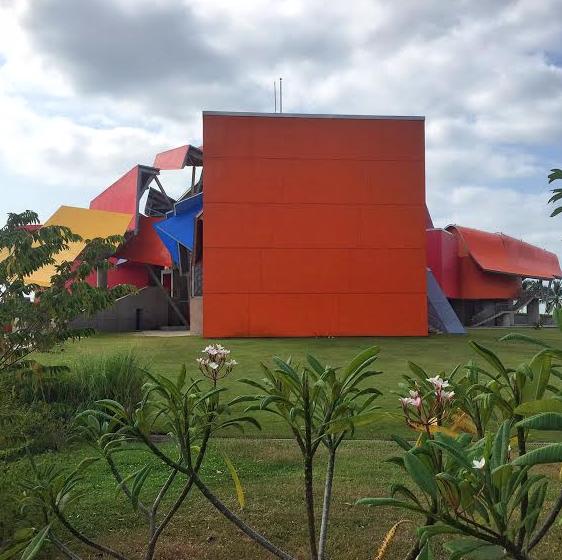 Los jardines del Biomuseo fueron el lugar de encuentro del segundo Menú Panamá.