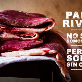 Foto de PABLO RIVERO: NO SOLO SOMOS CARNE, PERO NO SOMOS SIN CARNE